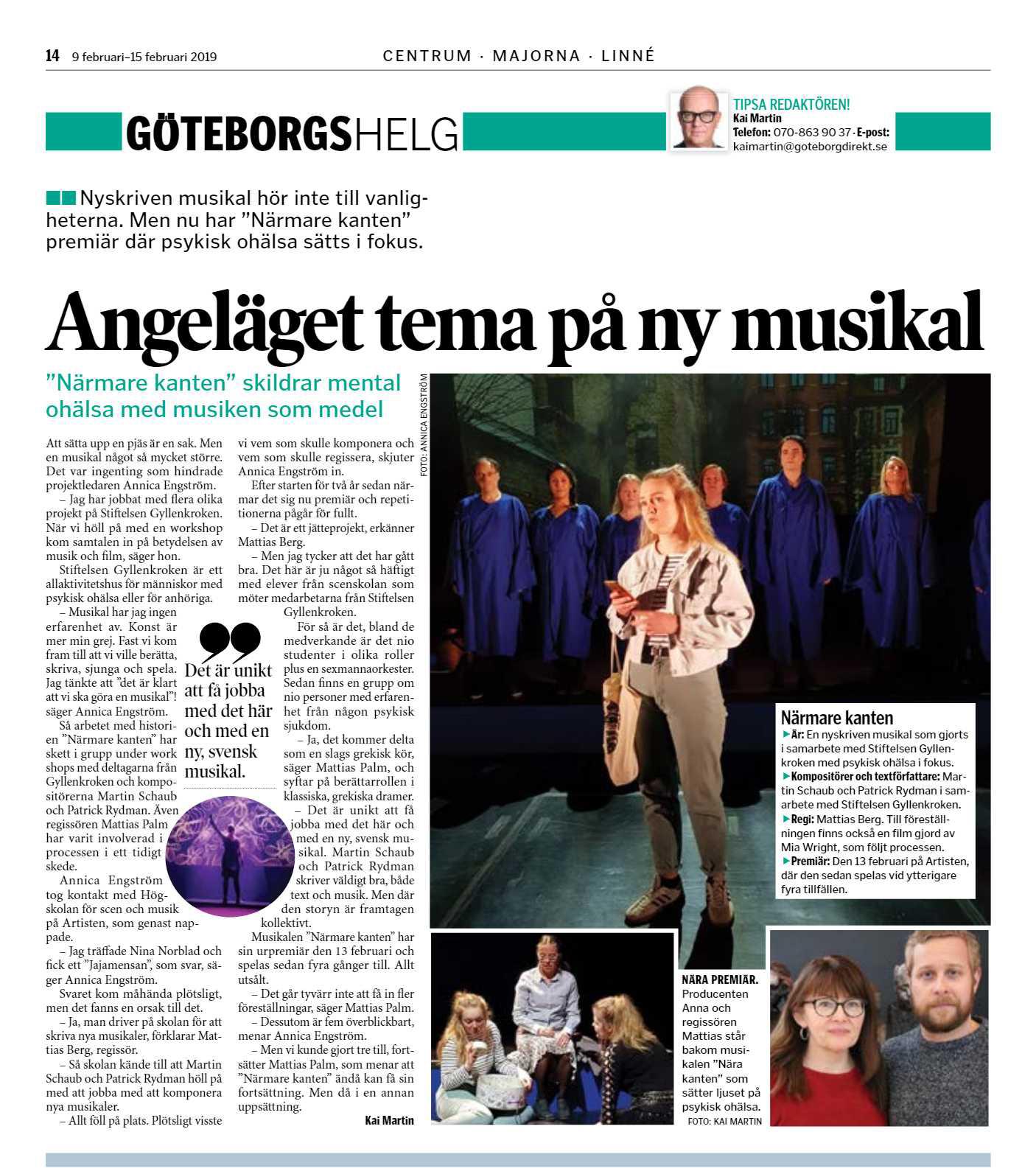 Artikel i Göteborg Direkt!